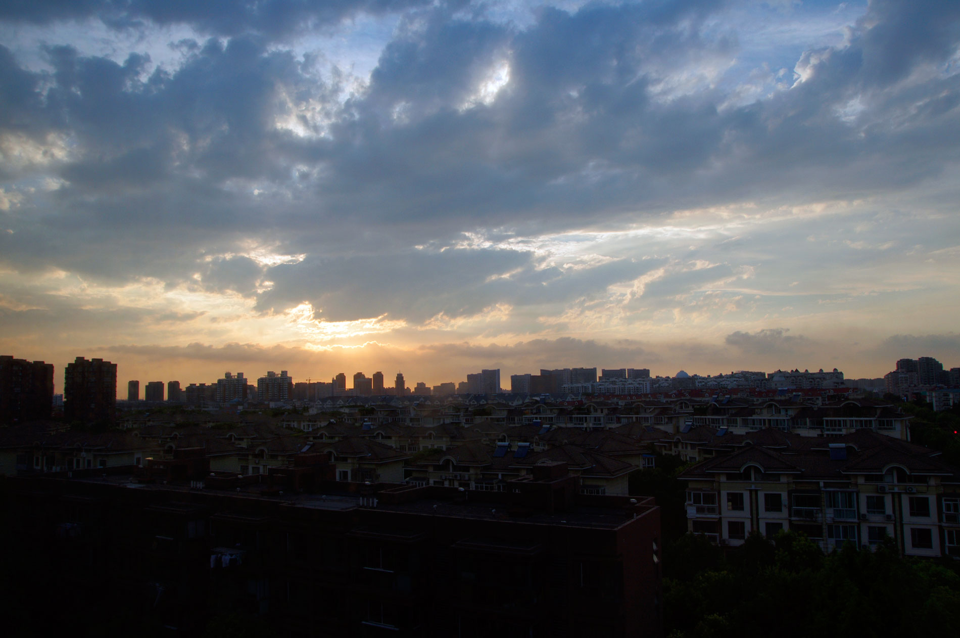 美丽的风光——夕阳西下